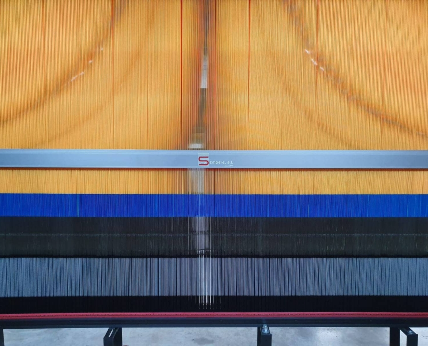 Fabricación de monturas Jacquard y Telares