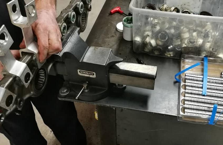 Reparaciones Mecánicas Máquina Jacquard y Telares