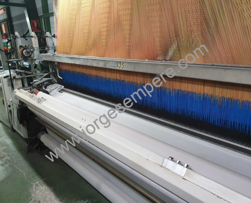 4 x Vamatex P1001es 300 cm with Grosse Jacquard EJP2 2688/2400