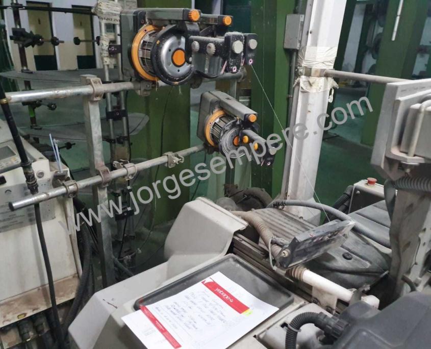 4 x Vamatex P1001es 300 cm with Grosse Jacquard EJP2 2688/2400